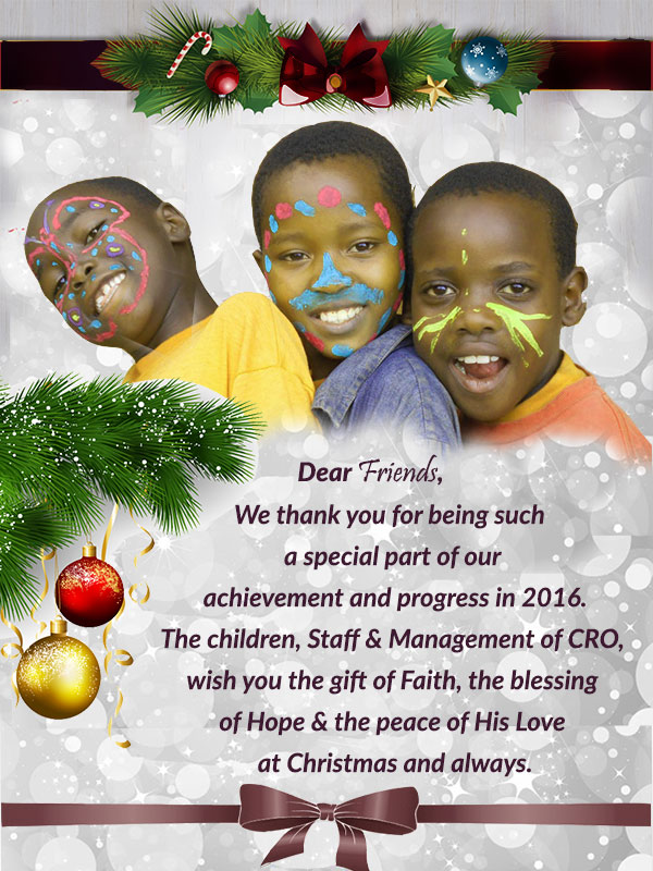 Merry Christmas & a Blessed New Year -2017